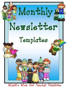 How to write a classroom newsletter